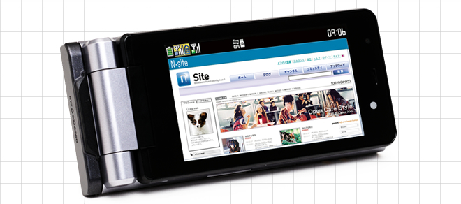NEC -N906iL onefone-